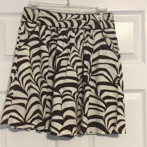 Dresses & Skirts - Brown and tan high waisted skirt